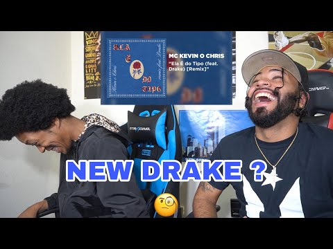 NEW DRAKE SONG 🔥🔥😱MC Kevin o Chris – Ela é do tipo (ft. Drake) Remix | FVO Reaction