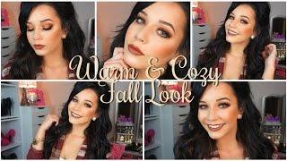 ♡Warm & Cozy Fall Makeup♡| First Impressions | Makeup Geek