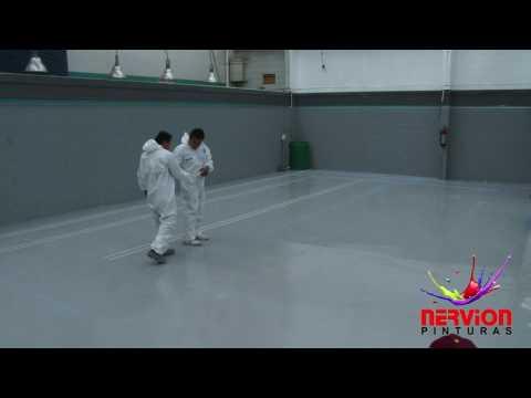 Como pintar un piso de cemento paso a paso - pintura de poliuretano de alta resistencia para pisos