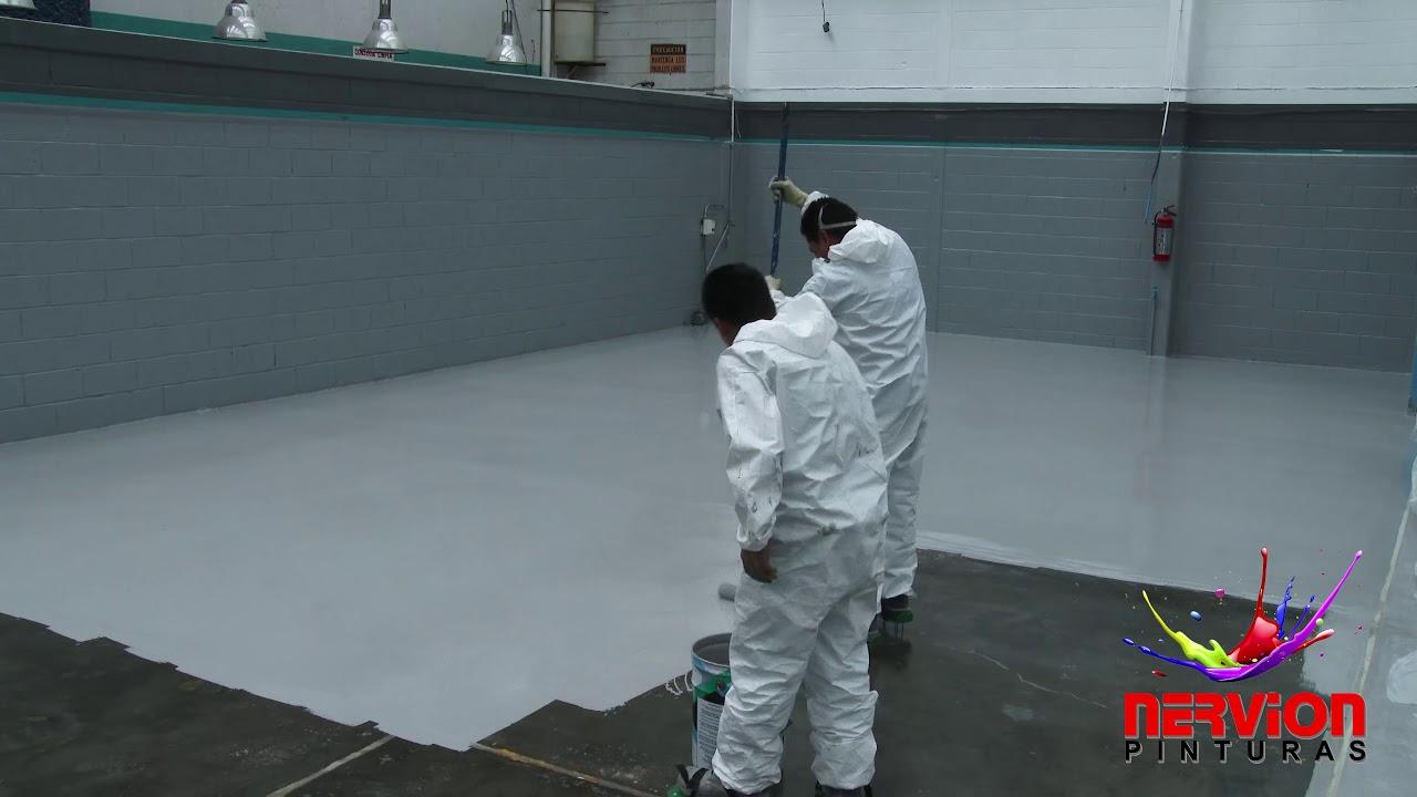 Como pintar un piso de cemento paso a paso pintura de - Como pintar un piso pequeno ...