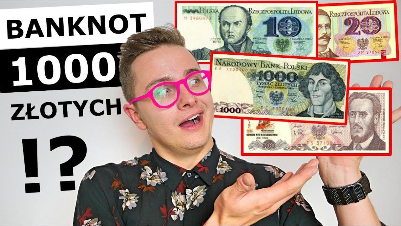 PIENIĄDZE W PRL - JAK WYGLĄDAŁY MILIONY?!