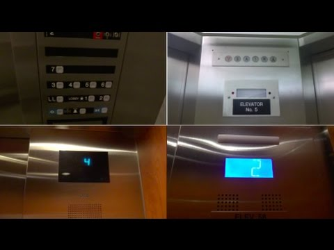 Tour of the Elevators @ Milwaukee Regional Medical Center in Wauwatosa WI