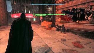 BATMAN™: ARKHAM KNIGHT - A former warden who had a strange turn - Riddle Solved