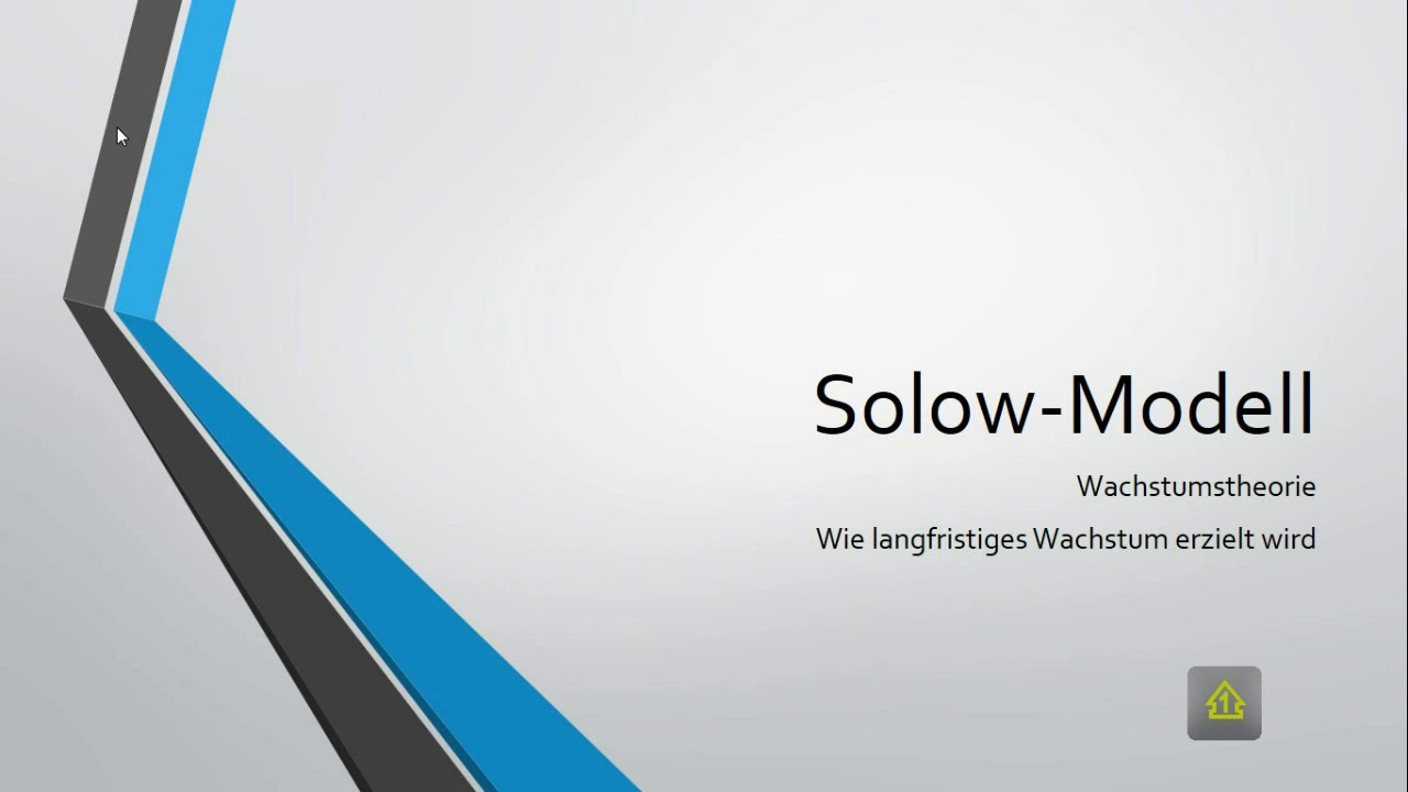 Solow Modell Steady State Sparquote Langfristiges Wachstum Youtube
