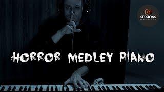Músicas de Terror no Piano [Horror Themes Medley on Piano]