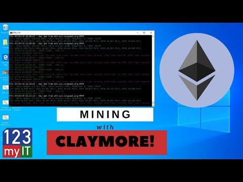 Mining Pools Claymore Dual Miner Easy Setup