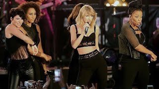 """Taylor Swift - """"Out of the Woods"""" Live at Jimmy Kimmel 2014/10/23"""