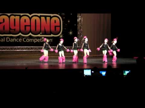 "Dance Industry Broadway Babies Dancing ""Funky Town"" at STAGEONE competition"