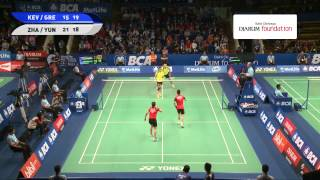 Zhang Nan / Zhao Yunlei (CHINA) VS Kevin Sanjaya S. / Greysia Polii (INDONESIA)