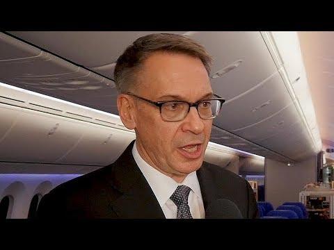 Boeing's Tinseth on 787-10 Dreamliner, 777X Program Updates, 747's Farewell