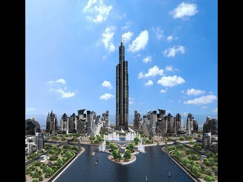 Azerbaijan Tower- over 1 km Tall Tower  -World's Tallest Proposed Tower