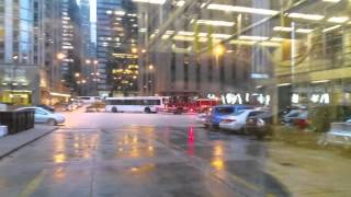 Chicago Fire Engine 13 & Ambulance 42 Responding