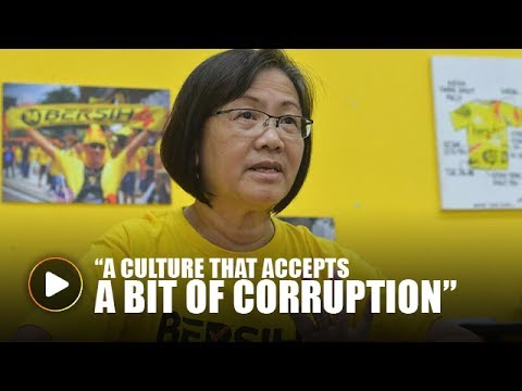 Maria Chin: We have a culture that accepts 'a bit of corruption'