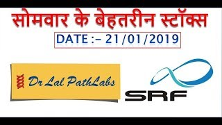 # 72 || INTRADAY TRADING TIPS FOR TOMORROW 21/01/2019 || STOCK INTRADAY TRADING IDEA EXAMPLE ||