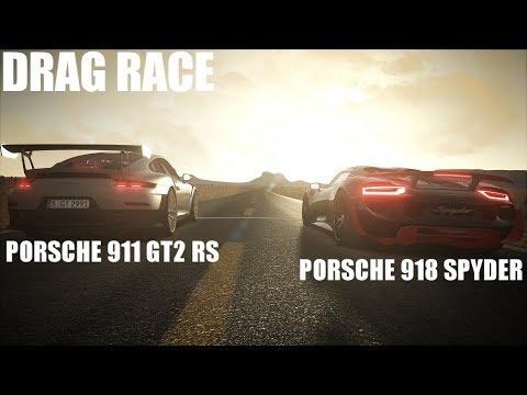 2018 porsche spyder.  porsche 2018 porsche 911 gt2 rs vs 918 spyder drag race  assetto corsa for porsche spyder