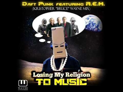 Daft Punk X R.E.M. - Losing My Religion To Music - Mashup