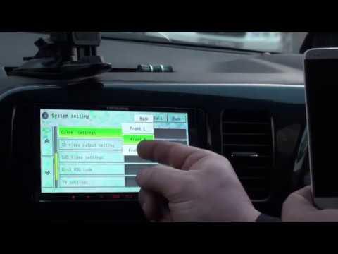 Pioneer Carrozeria AVIC MRZ77 Как подключить смартфон по BlueTooth