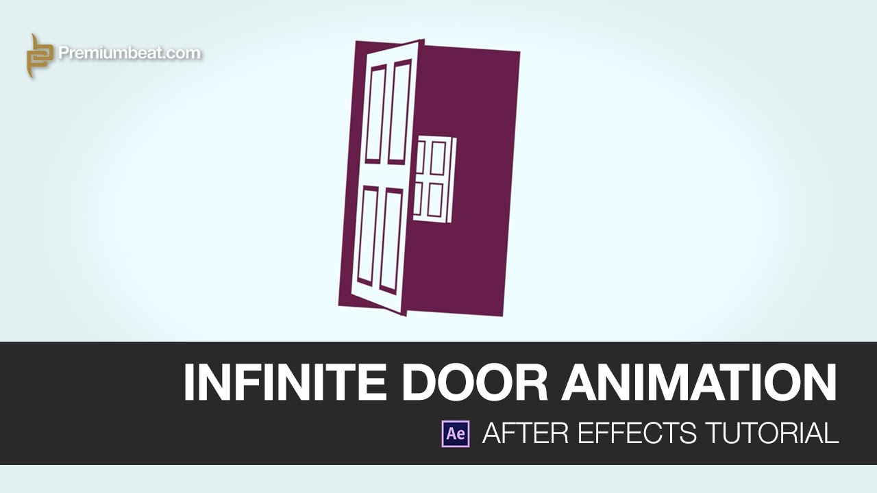 sc 1 st  YouTube & Video Tutorial: Infinite Door Animation in After Effects - YouTube
