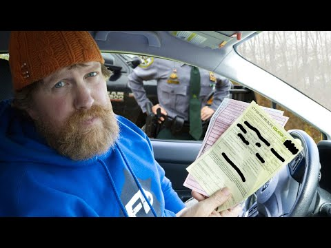 I GOT A FINE FOR ....../Day 19 of 30 Day Survival Challenge Maine Lockdown