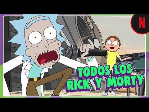 """Download Todos los """"Rick"""" y """"Morty"""" de las 4 temporadas"""