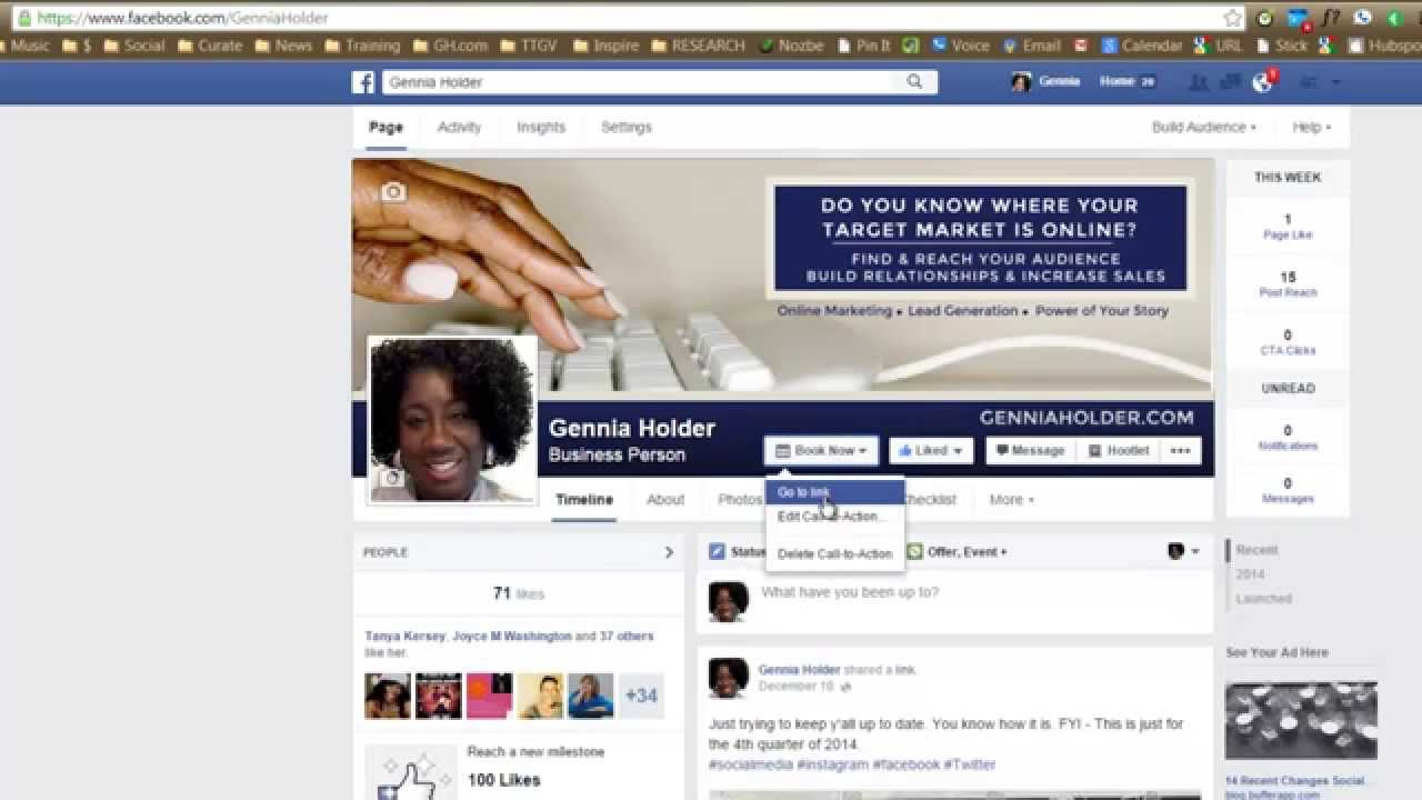 How To Add Facebook Page Call To Action Button To Your