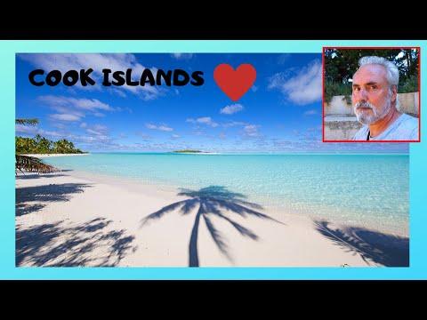 COOK ISLANDS, the magnificent MURI BEACH in RAROTONGA  (Pacific Ocean)