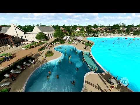 Join us through Balmoral's Amenity Village & Crystal Clear Lagoon