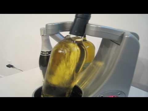 VinPodium rapid wine, spirit, & Champagne chiller/cooler