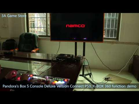 Pandora's Box 5 Deluxe Version Console Connect PS3, X-BOX 360 Features Demo