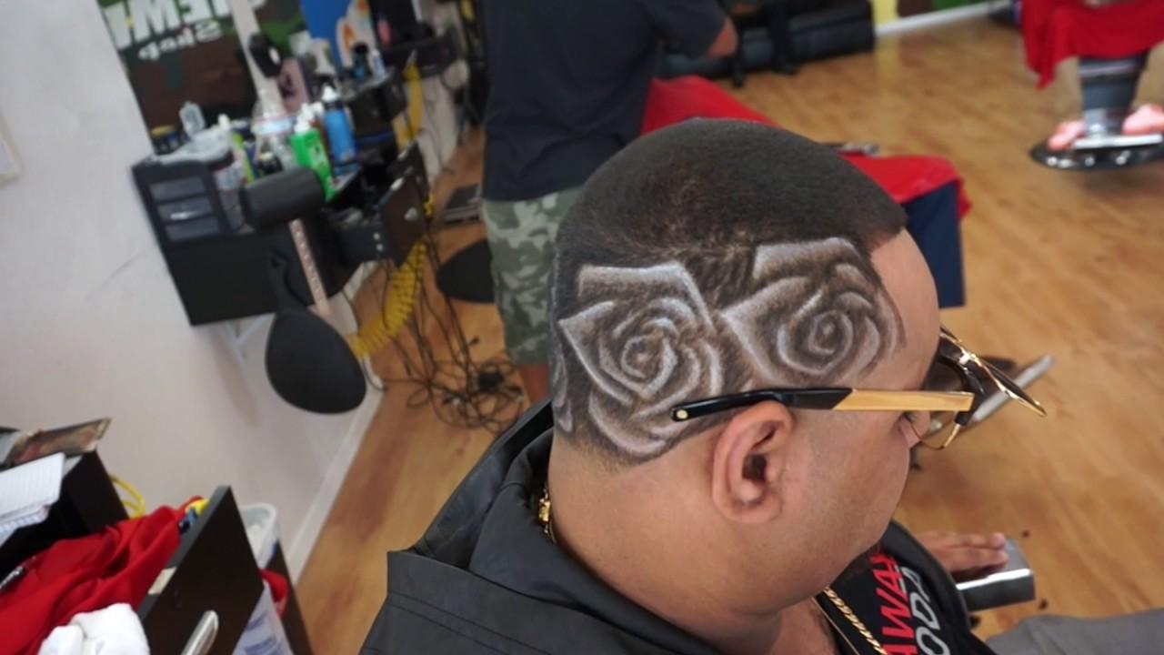barber 2017 rose hair design