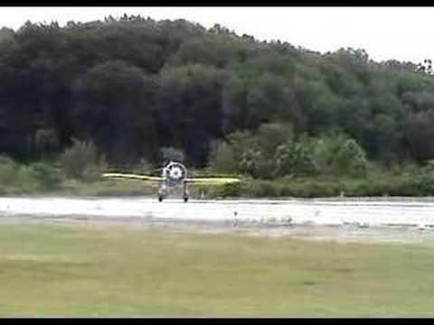 Dave Morss tests Mayocraft P-26 Peashooter aircraft