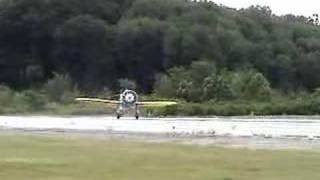Dave Morss tests Mayocraft P-26 Peashooter aircraft