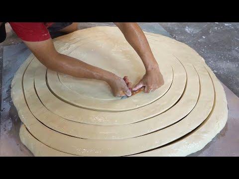 Handmade Noodles Making