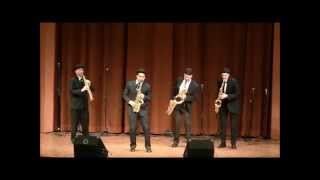 Video Bohemian Rhapsody - Saxophone Quartet download MP3, 3GP, MP4, WEBM, AVI, FLV Maret 2018