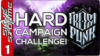 Frostpunk Hard Campaign Challenge - EP 1 HARD MODE!