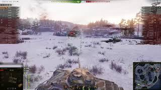Т-54 перший зразок, Заполяр'я, Стандартний бій