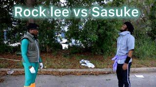 Sasuke vs Rock Lee (Hood Anime) Short film