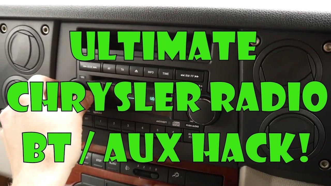 TDL- Ultimate Chrysler Jeep Bluetooth Radio Hack