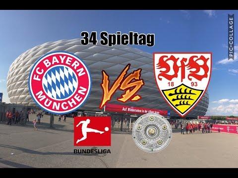 Mein Stadionbesuch beim Bundesligaspiel FC Bayern München:VfB Stuttgart 1:4 am 12.5.2018