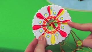 圓形編織盤教學