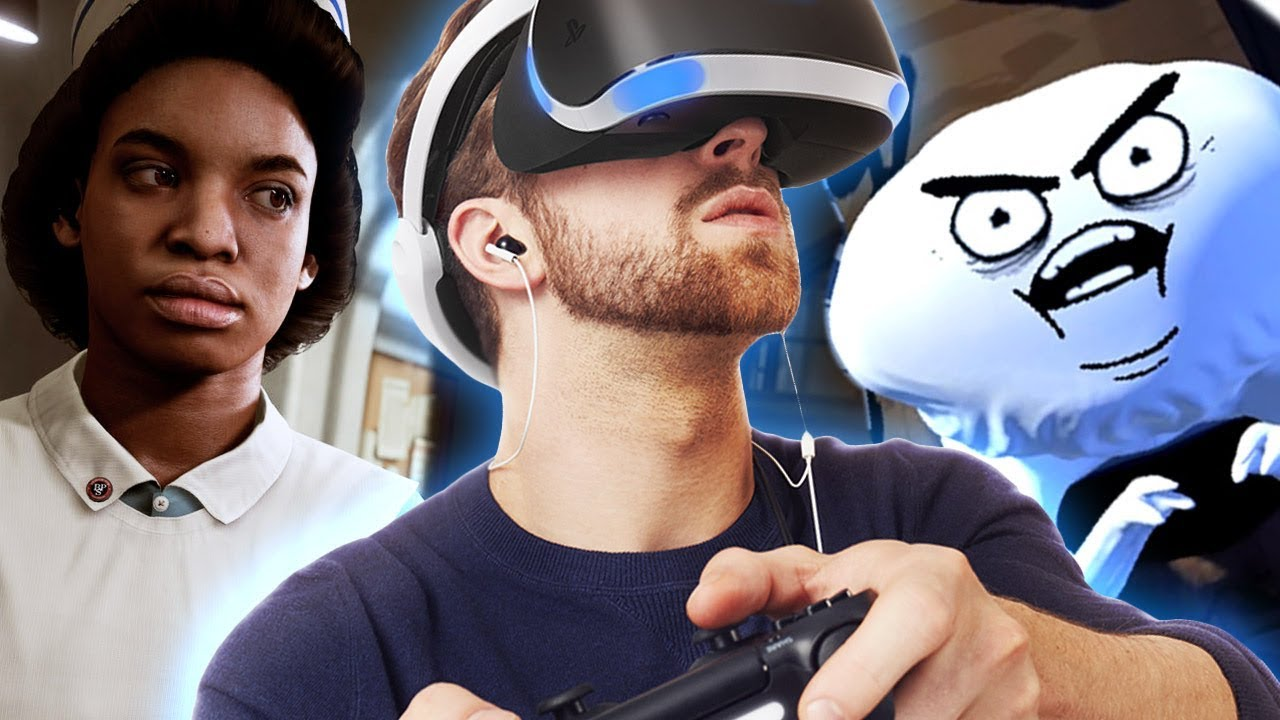 5 Awesome PSVR Games At PSX 2017