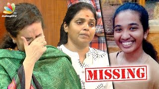 Actor Prakash Raj's ex wife Lalithakumari niece missing | Disco Shanthi Press Meet