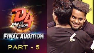 D4 Junior Vs Senior I Final Audition - Part 5 I Mazhavil Manorama