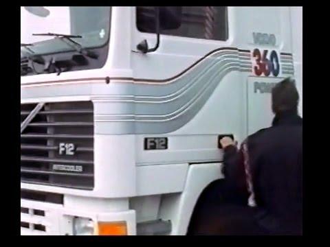 Volvo F12 Driver Instruction Video-1989/FULL VERSION # 1 - YouTube