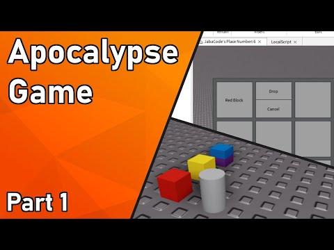 Roblox Development Timelapse - Apocalypse Game (Part 1) |