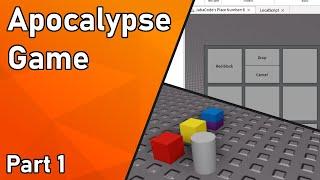 Roblox Development Timelapse - Apocalypse Game (Part 1)