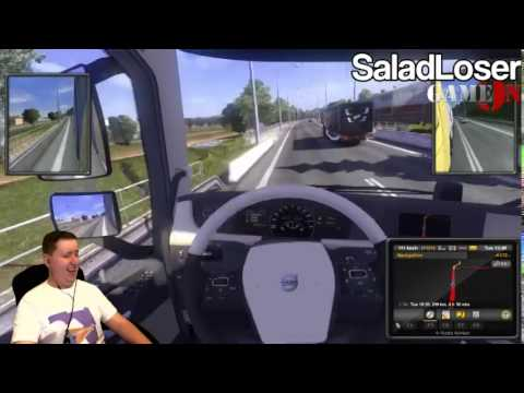 Salad Lost His Way [SaladLoser] [Euro Truck 2 Karaoke]