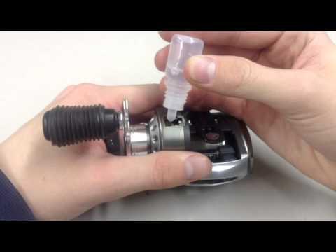 How To- Lube/ Oil A Baitcast Reel