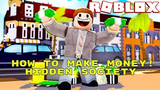 Roblox Hidden Society New York: Wie man Geld verdient + Locations und mehr