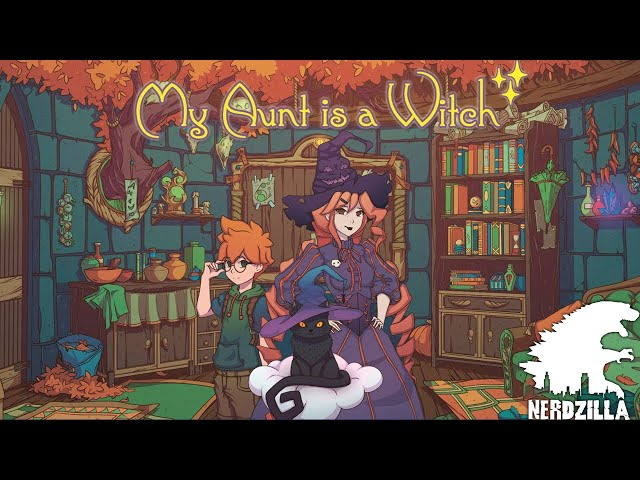 My Aunt Is A Witch Review Stream with N3RDZILLA GAMING